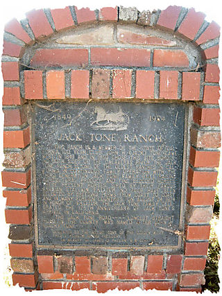 Sutter creek barn plaque
