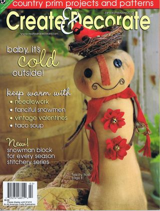Create & decorate 2012 cover 1