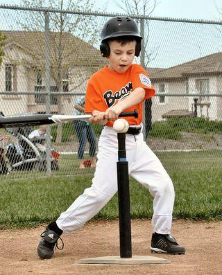 Tim at bat