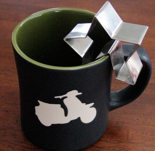 Cookie cutter on cup